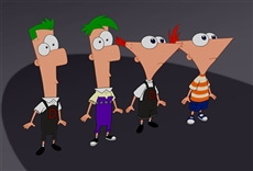 Phineas y Ferb a través de la 2da dimensión